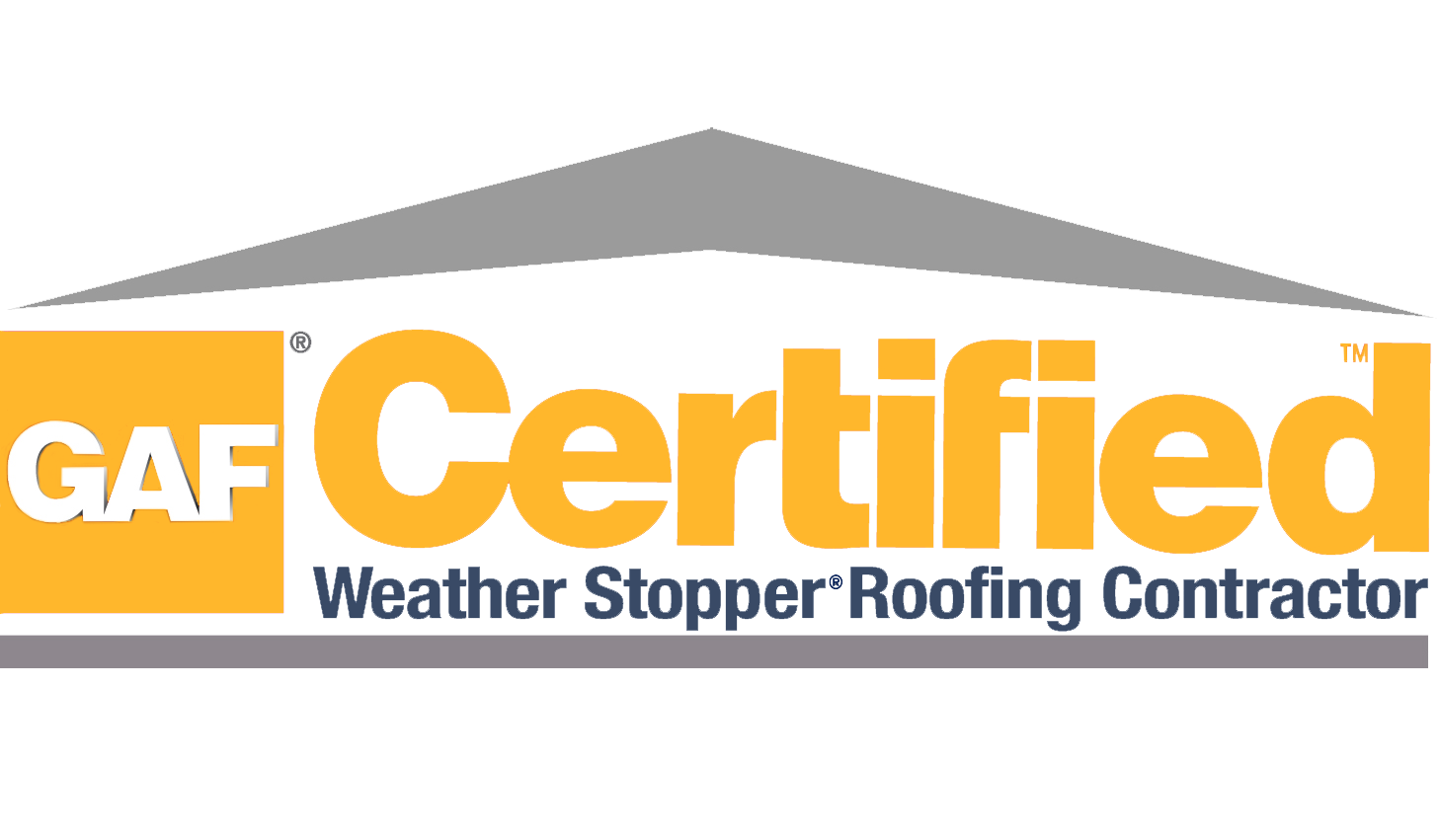 S&M Roofing uses GAF certified materials